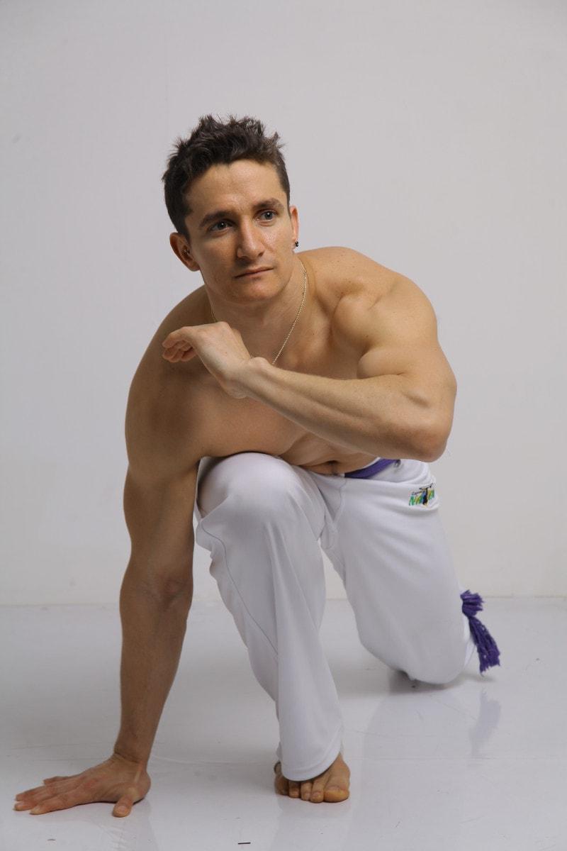 Fabio Ready for Capoeira